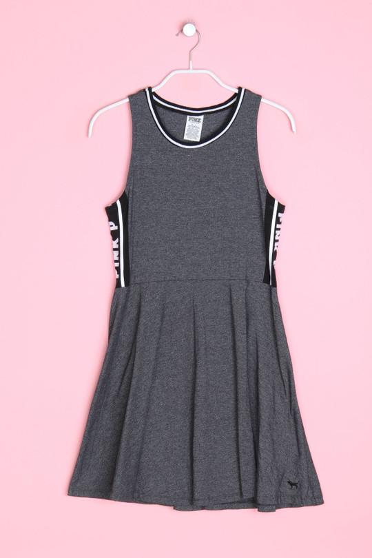 VICTORIA´S SECRET PINK - skater-kleid mit logo-print - S ...
