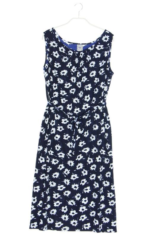 C A Kleid Aus Jersey Mit Blumen Print D 44 Secondhand Kaufen Nur